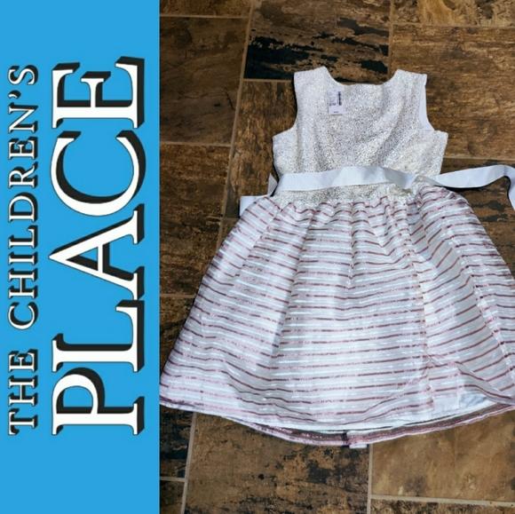 🆕 Girl's Sparkle PLACE Lined Dress Sz XL 14